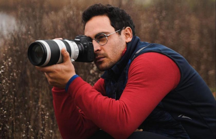 Filippo Vianelli, il fotografo del mondo del golf