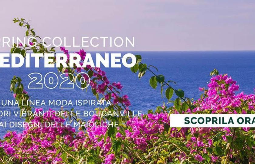 Chervò presenta la nuova collezione primavera Mediterraneo 2020
